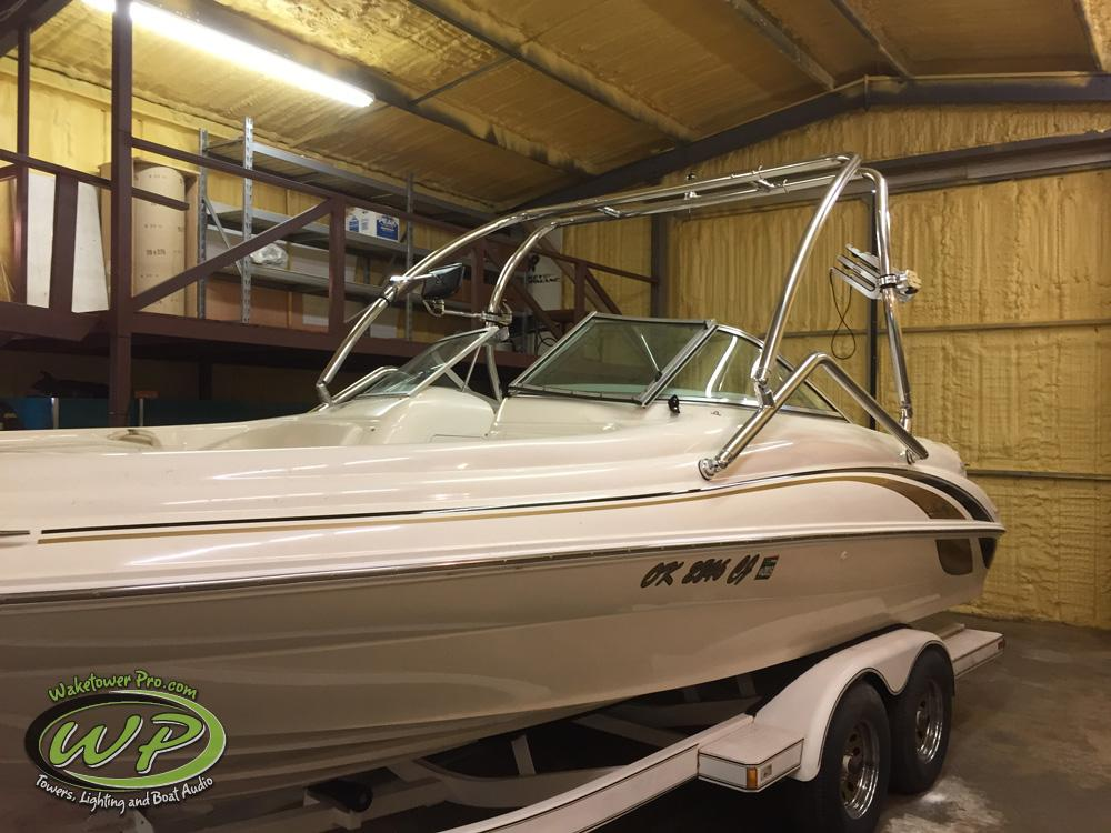 Waketower Pro - Wakeboard Tower and Boat Audio Installation