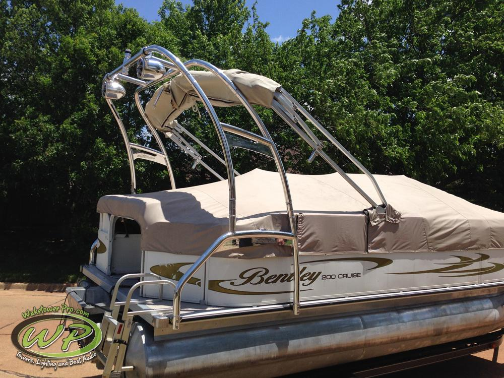 Aerial F250 Pontoon Tower (Starting at $3,000.00 Installed)